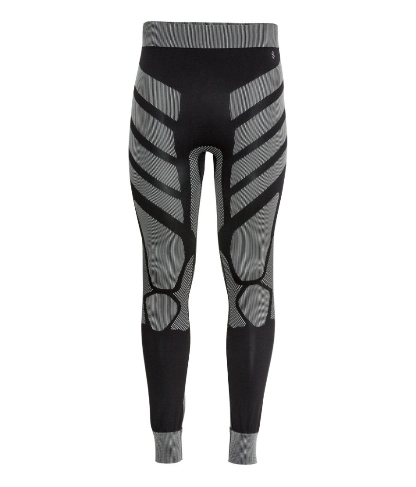 Men's Sports Seamless Long Johns, Sexy Men Thermal Long Johns for Skiing, Running, Cycling