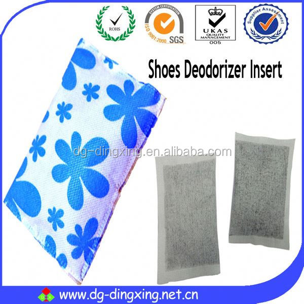 Odour and moisture removal deodorant agent
