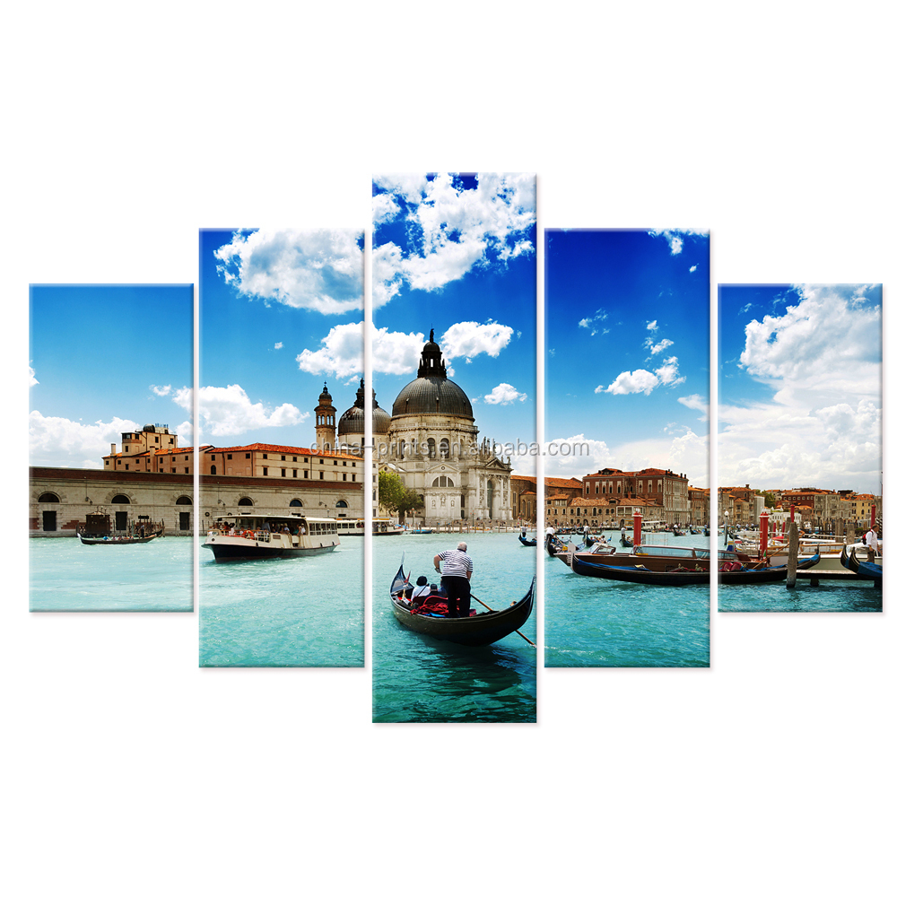 Modern Canvas Wall Art/Landscape Canvas Painting Printed on Canvas/Framed Home Wall Decoration Art