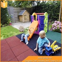 Playground kids rubber brick