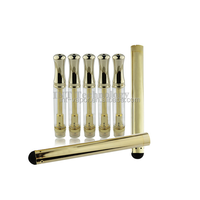 2016 Top Quality Refillable Gold Cbd Thc Co2 Hemp Oil O