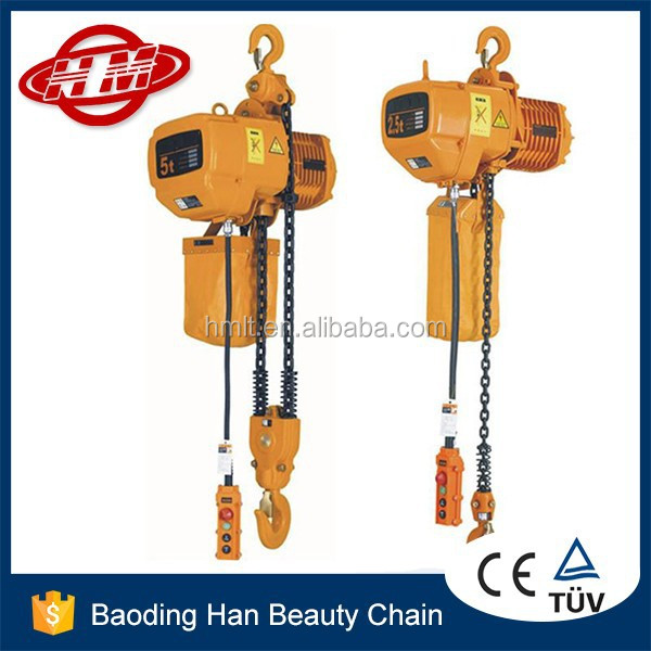 HSY type 1.5 Ton electric chain hoist block