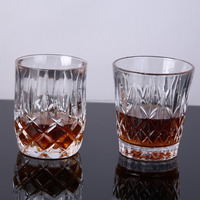 High Quality Engraved Crystal Whiskey Glass