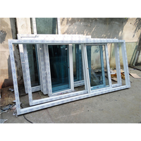 china home construction material cheap price 4 track sliding pvc window profile
