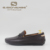 2019 White Leather driving shoes English gentleman driving 가죽 shoes