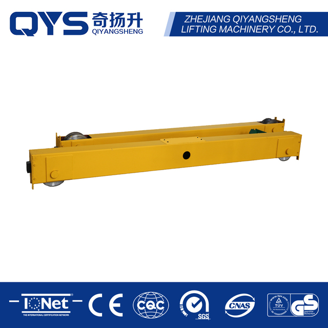 Double Girder Top Running Bridge Overhead Crane End Beam