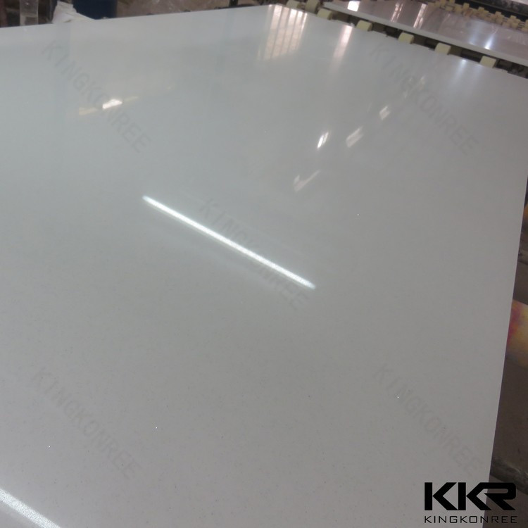 snow white 12mm quartz engineered stone
