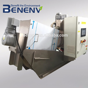 24 Hours Automatic sludge dewatering machine to replace slurry filter press (MDS101)