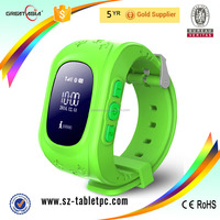 2016 Best Selling Smart watch GPS For Kids With Remote Monitoring