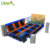 LiBen Rectangular Indoor Trampolines with Foam Pit and Climbing Wall, Custom Design Kids Indoor Trampolines