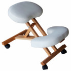 folding wooden kneeling stool chair for massage use
