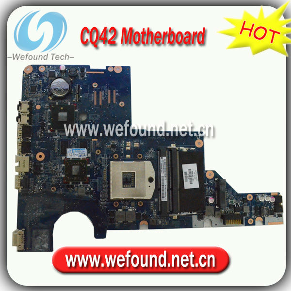 595183-001,Laptop Motherboard for HP CQ42 G42 Series Mainboard,System Board