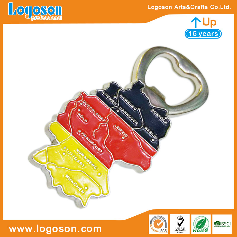 Wholesale Souvenirs Berlin Tourist Gifts Metal Ornament Creative Collectible Crafts Pewter Bottle Openers