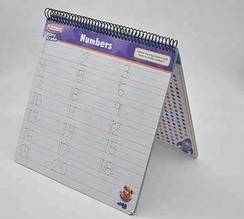Custom English Alphabet Number Shape Writing Practice Paperboard