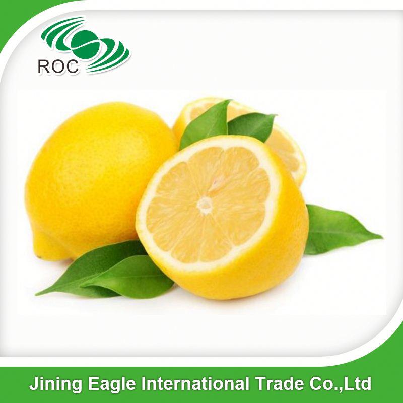 Hot sale Sichuan supplier fresh yellow oval lemon