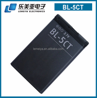 battery bl-5ct bl5ct bl 5ct original quality recharge cellphone battery for nokia C3-01/C3-01m/C5-00