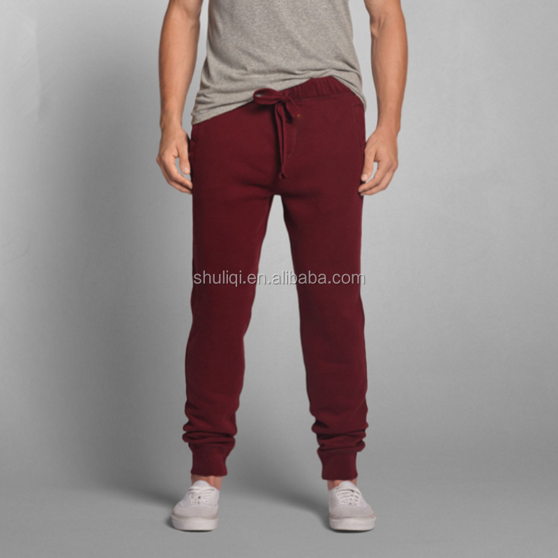 winter warm heavyweight fleece cotton men track pants jogger pants wholesale price