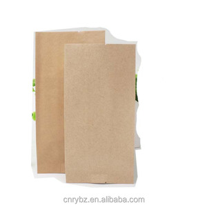 Plain side gusset food packaging standing up plastic pet dog resealable kraft paper bags flat bottom pouch with window