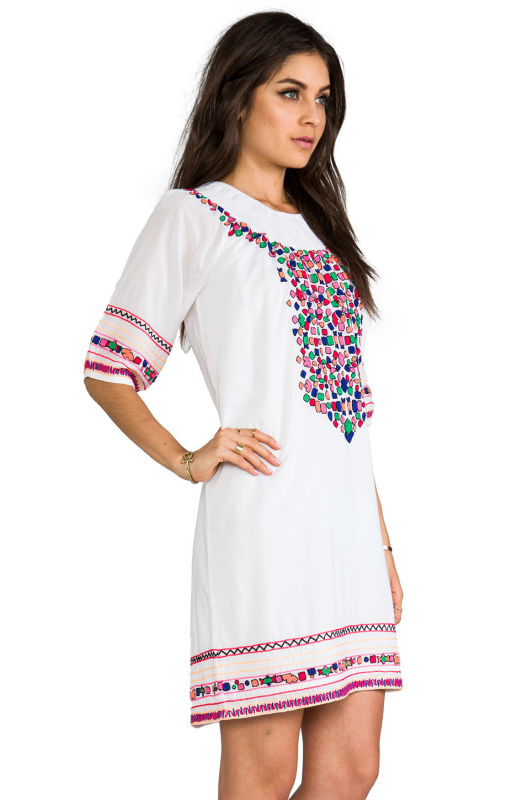High Quality Casual Dress Indian Tunic Patterns