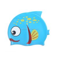 Water sports comfortable silicone kid swim caps /hat