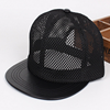 Mesh leather cheap custom snapback hats wholesale baseball cap