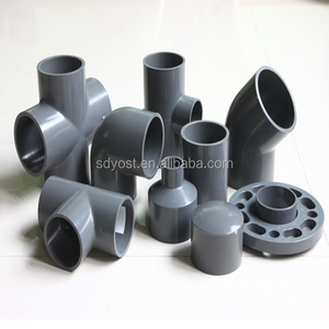 UPVC plastic Y branch water supply pipe fittings