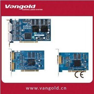 new PCI Slot 4 Channel DVR Card DH-VEC1604FB with Hardware Compression