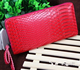 Fashion Snake Texture Long Lady Customized leather brand women wallet