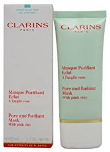 Unisex Clarins Pure and Radiant Mask With Pink Clay Cleanser 1.7 oz 1 pcs sku# 1773030MA