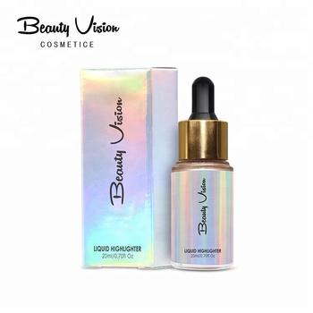 oem highlighter makeup private label 16 colors shimmer