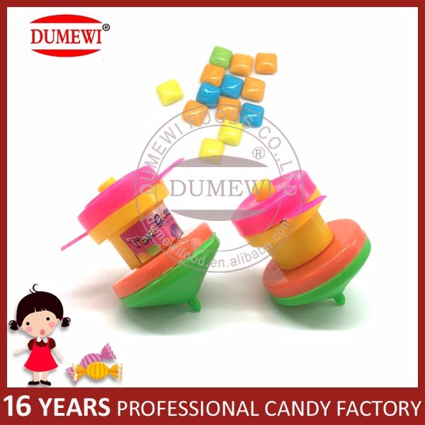 Cheap Gyro Candy Toy with Sweets Toy Candy