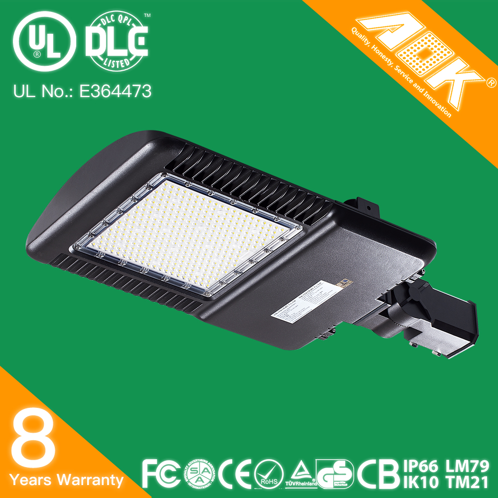 UL DLC FCC Approved Led Shoebox Retrofit Kit Lights with 5 Years Warranty