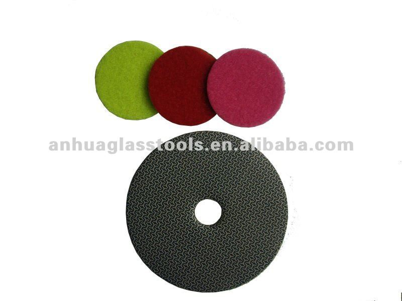 high quality and portable 50mm diamond polishing pad Scratch Removal Tool Kit