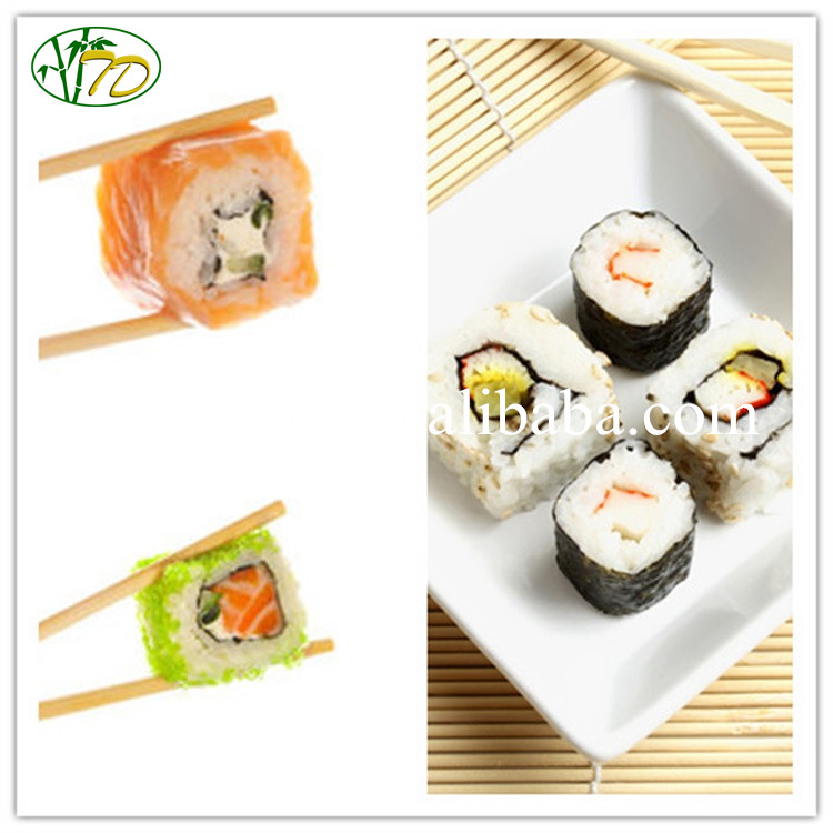 Unique style best quality sushi disposable bulk bamboo chopsticks