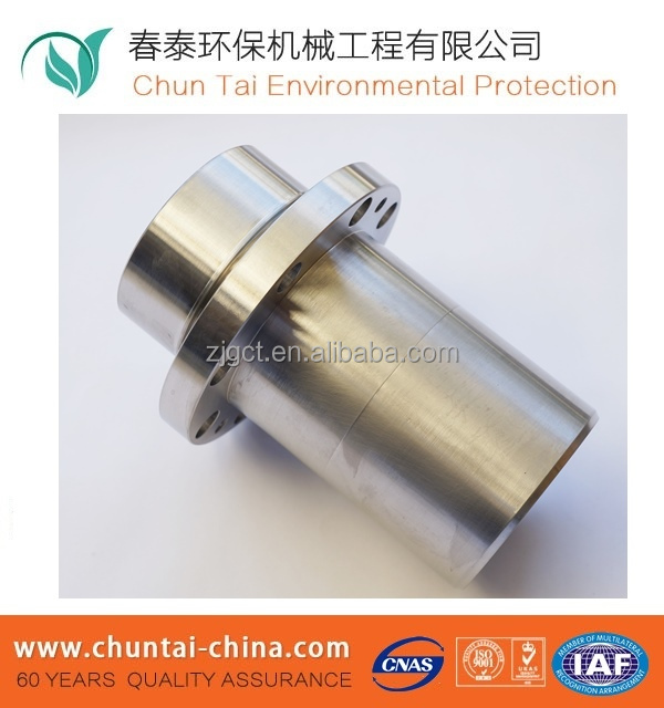 Double Pole Coupling, Through Stop Pin, Nostandard corrugated sleeve