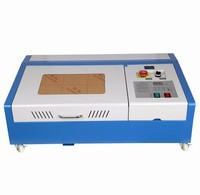 Engraver with High Precise Wood Cutter 40W CO2 USB Laser Engraving Cutting Machine
