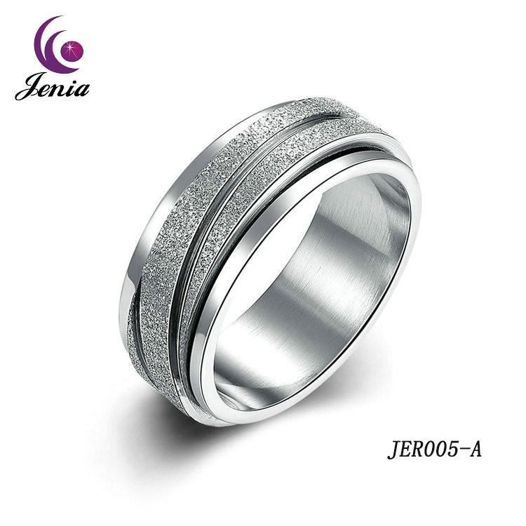 Jenia Fashion Jewelry Boys Rings Fashion Dull Polish Rings ...