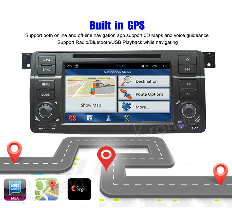 for bmw e46 android car radio