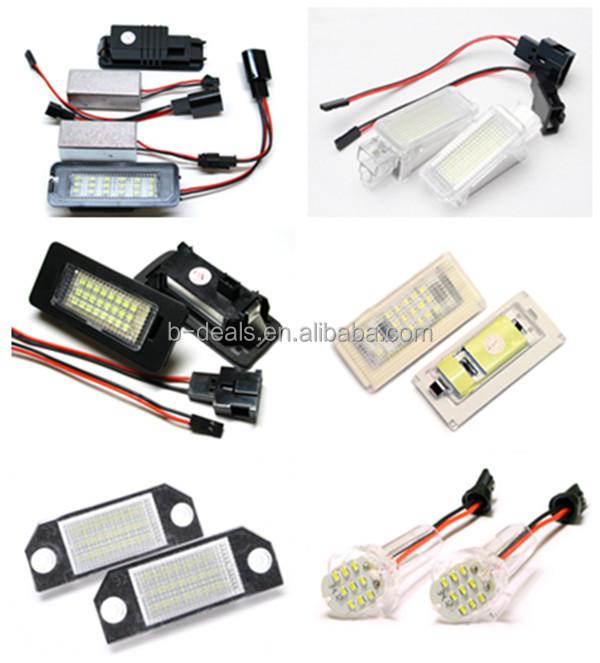 Plug And Play No Wiring No Modification Q7 Led Light Led License ...