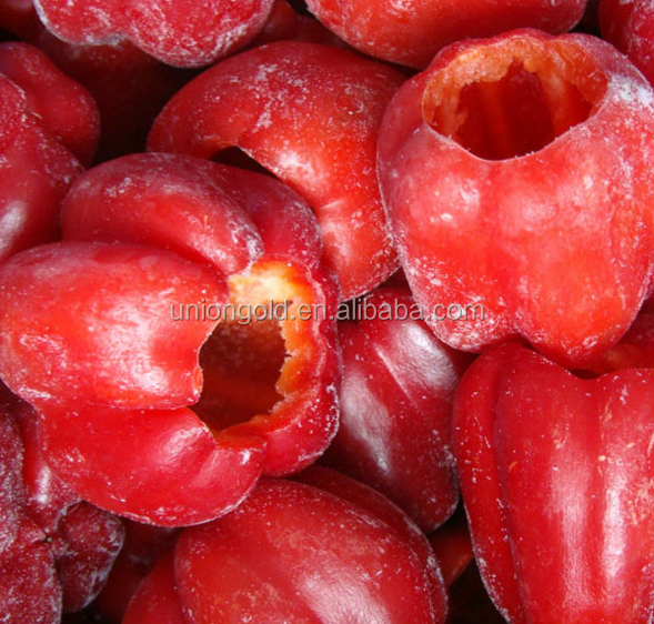 IQF frozen red bell pepper