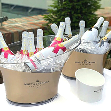 Moet & Chandon Hohe Qualität <span class=keywords><strong>Kunststoff</strong></span> Bier outdoor <span class=keywords><strong>eimer</strong></span> für Verkauf