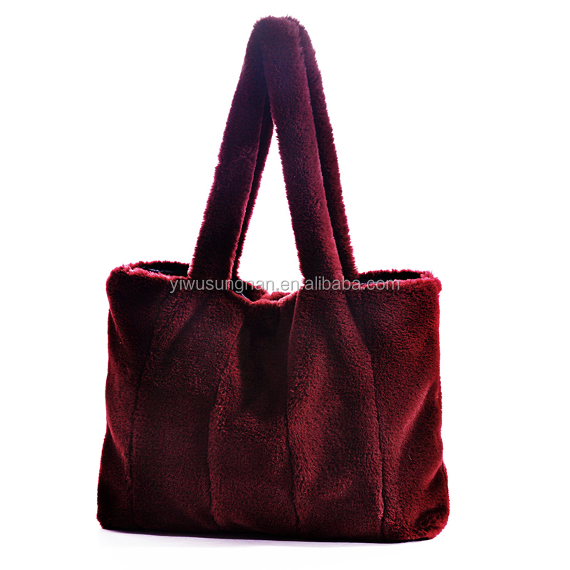 2018 new fashion top selling women felt leisure bag casual handbag