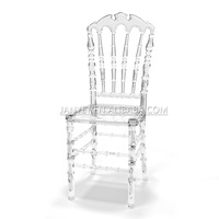 Alibaba Fancy Best Quality Clear Resin Chivari Chairs