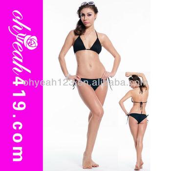 Gros Hot Femme Noire Sexy Bikini Ensemblejeunes Vêtements De