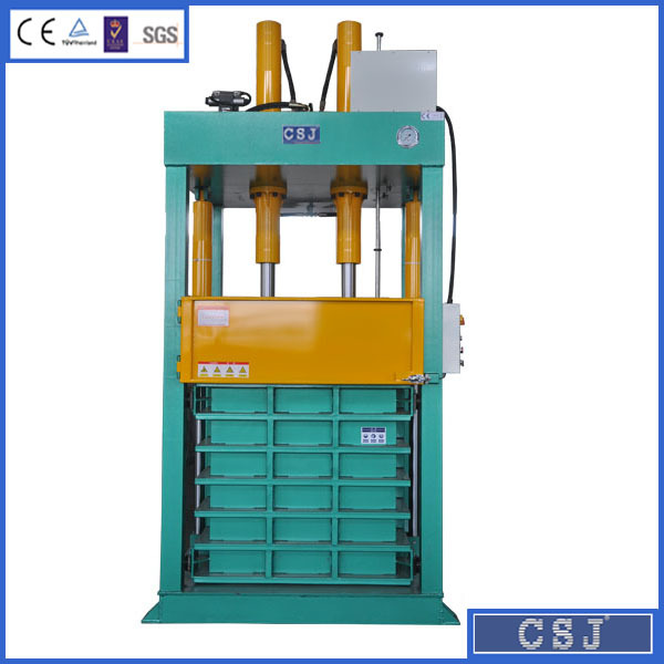 Electric button control cloth baling machine hydraulic used clothes press
