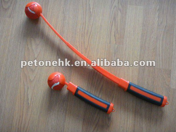 Retractable Pet Tennis Ball Thrower