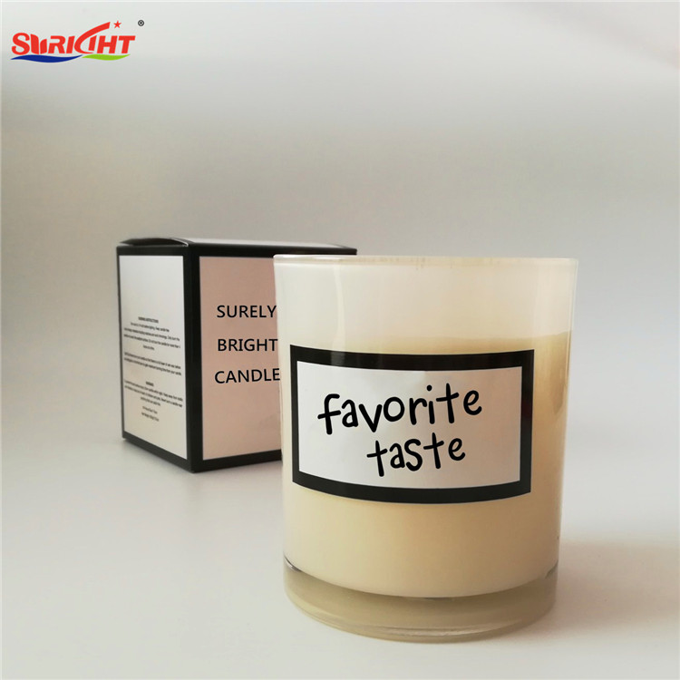 300ml Big Glass Jar Cosmetic Promotion Individual Pack Gift Candle
