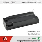 ABS plastic electronic junction box for battery housing