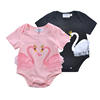 Guangzhou Kids Clothes 100 Cotton Baby Romper Wholesale Baby Clothes Infant Baby Clothing