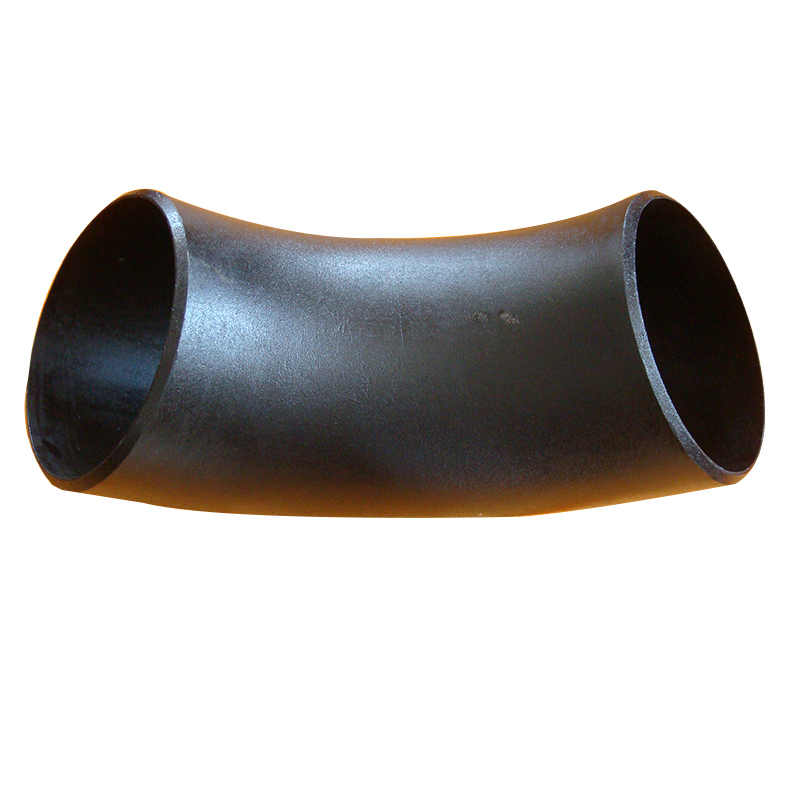 High quality DN1200 carbon steel 90 degree seamless flange elbow
